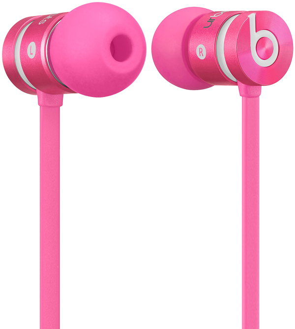 Слушалки Beats by Dre urBeats 2 In Ear в розово