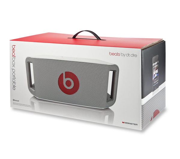 Спийкиър Beats by Dre Beatbox Portable в бяло