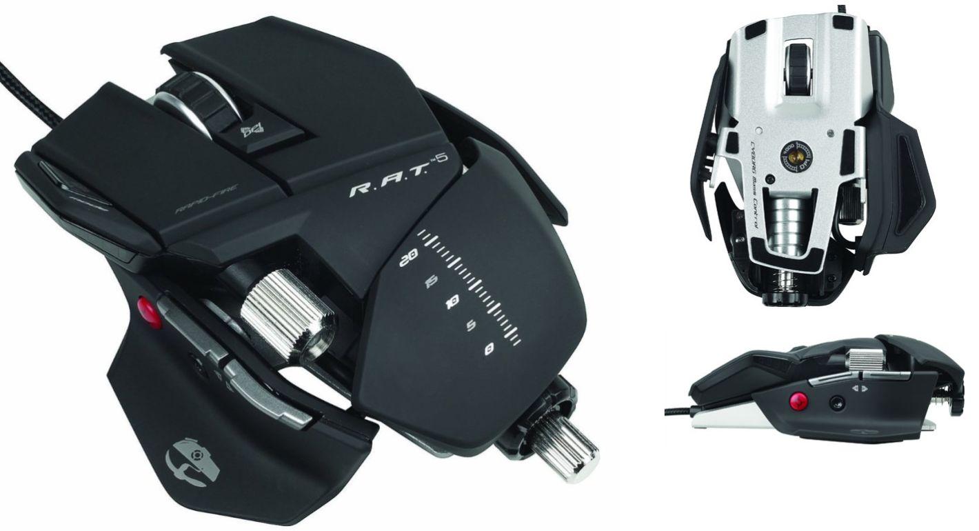 Mouse, Saitek Cyborg R.A.T. M